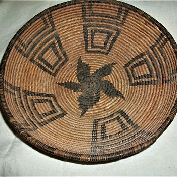 APACHE  REED BASKET - Native American