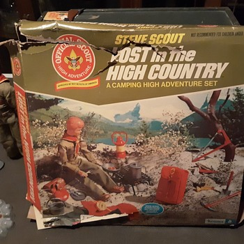 Steve Scout Lost In The High Country Mint in a Rough Box 1974 - Sporting Goods