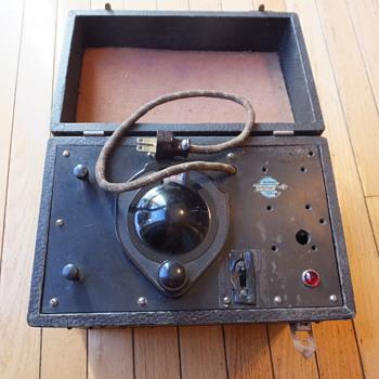 Vigor Ozonator, 1921; Anyone know what this did? - Electronics