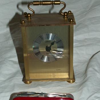 Vintage Emes Brass Alarm Clock ~ Germany - Clocks