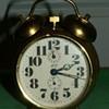 Antique/Vintage Linden Blackforest Alarm Clock ~ Germany