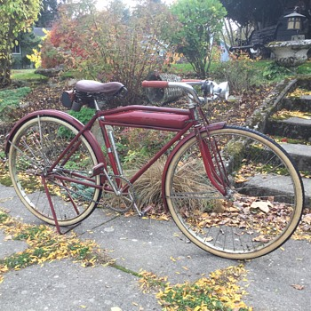 "1923 hendee ""Indian"" bicycle - Sporting Goods"