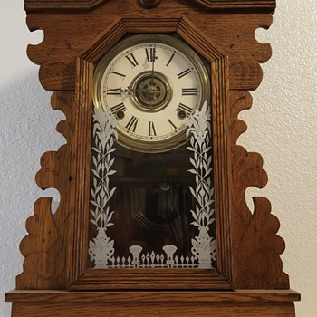 Wm. L. Gilbert OWL clock