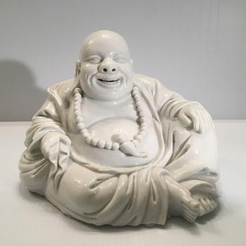 17th Century Chinese Blanc de Chine Dehua Buddha. - Asian