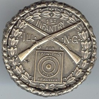 Marksmanship Medal Ring - Military and Wartime