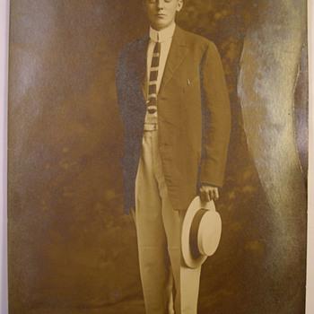 1900-1920 Example Of Jeff Davis Studio Advertising Postcard Jacksonville Florida - Postcards