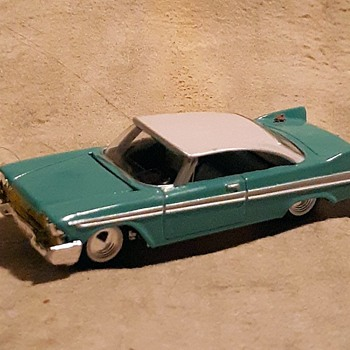 Racing Champions 1957 Plymouth 1/64 Scale - Model Cars