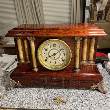 Need Help Dating Adamantine Seth Thomas Clock - Clocks