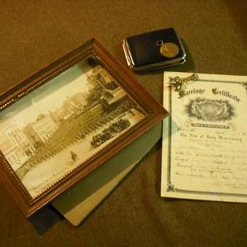 Memorabilia for the 27th Winnipeg Battalion, CEF - Military and Wartime