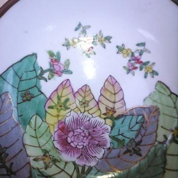 My enamel bowl