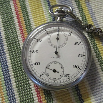 realy cool aristo stopwatch / chronograph? - Pocket Watches