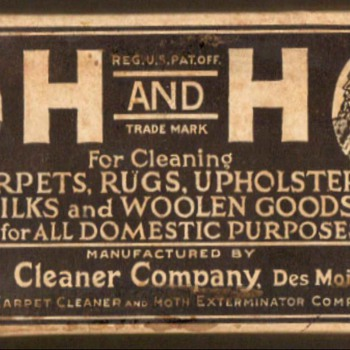 "1890-1920 - ""Hyde's H and H Soap"" - Advertising"