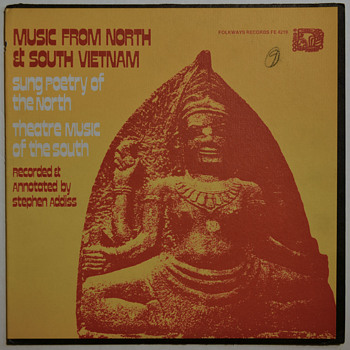 Music from North and South Vietnam - Folkways 1971