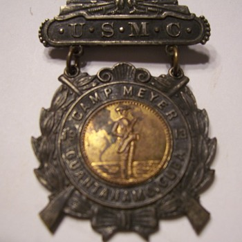 WWI BAND PIN CAMP MEYER GITMO - Military and Wartime