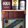 Vintage tins: Oxo, Sanka, Dundee, National Biscuit Company