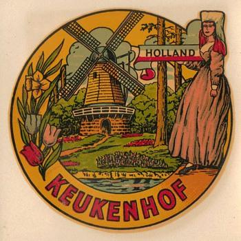 Travel Decal - Keukenhof Holland