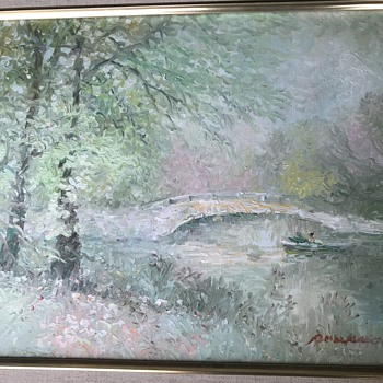 Need help with artist signature  - Fine Art
