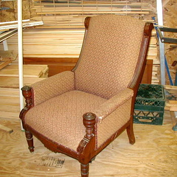 my mom's old recliner ???