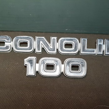 Ford Econline E-100 Nameplate 1975-1979 Plus My Mini Man Cave - Classic Cars