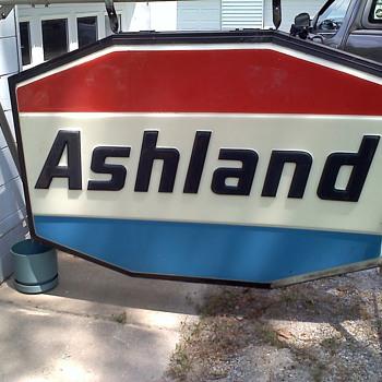 Ashland Ohio sign - Signs
