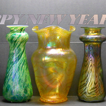 HAPPY NEW YEAR 2019, ALL THE VERY BEST WISH ON COLLECTING FOR THE INCOMING YEAR. - Art Glass