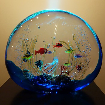 Elio Raffaeli For Ogetti Murano Aquarium - Art Glass