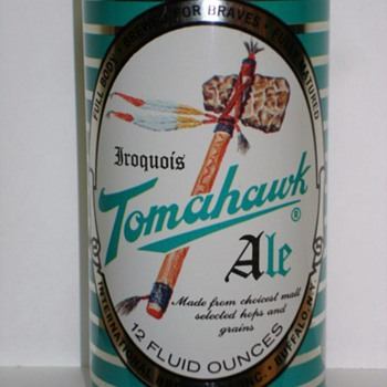 Tomahawk Ale can 1962 - Breweriana