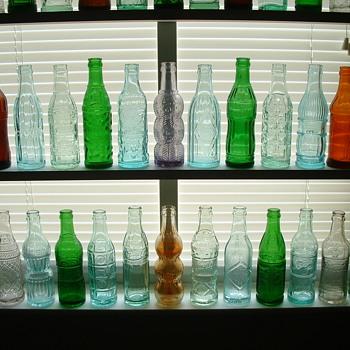 Deco Soda Bottles - Bottles