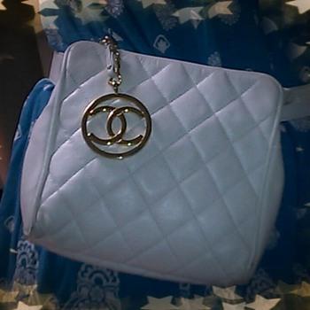 update Vintage rare Chanel Clutch waist purse bag