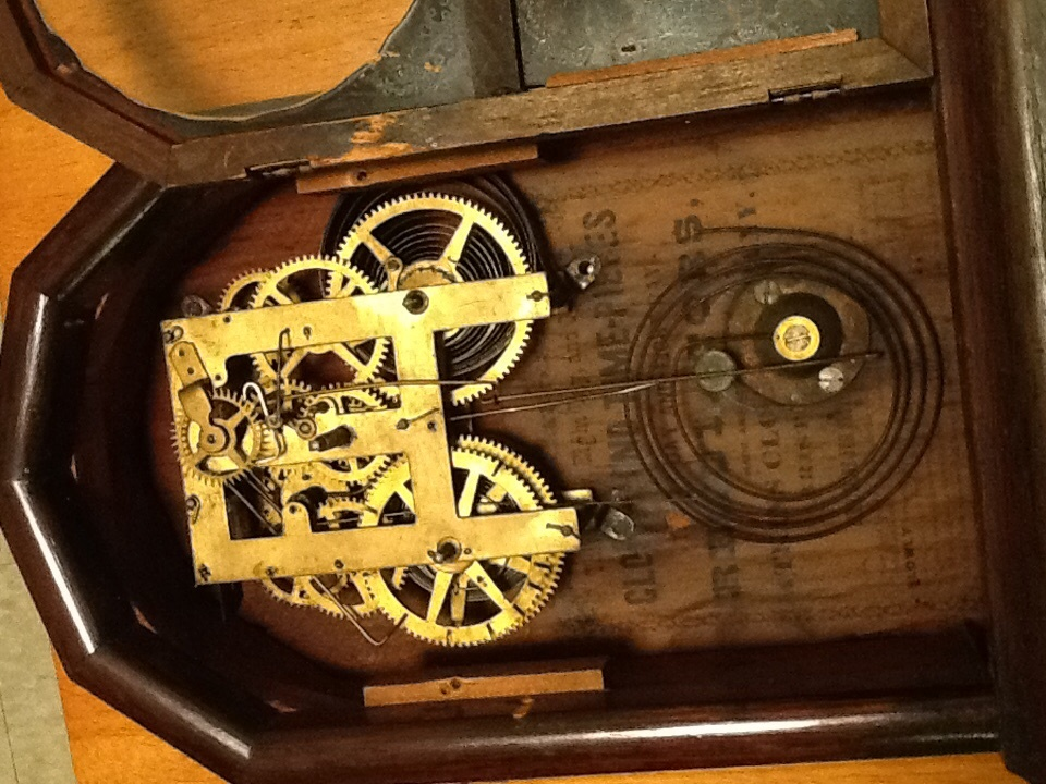8 day mantel clock