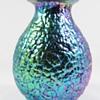"Loetz Cobalt Blue Phänomen genre 377 ""Lava"" decor ca. 1900 -05"