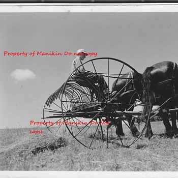 Old Farm machinery  photo  - Photographs