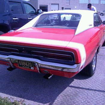 Co-worker's 440 Charger 4-speed...  It's real, not a clone. - Classic Cars
