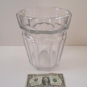 My Huge Vintage Baccarat Vase/Ice Bucket! - Art Glass