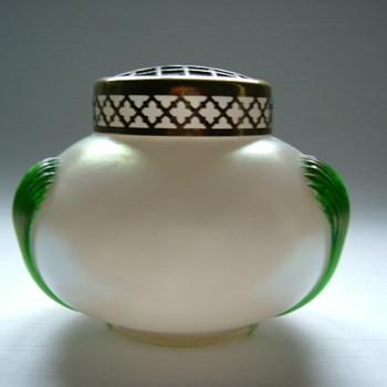 Kralik Art Nouveau Rose Bowl - Art Glass