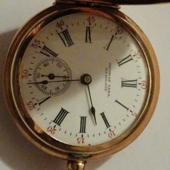 Waltham mass 14 ct gold,1908 ladies pocket watch.What is the value?Thank you - Pocket Watches