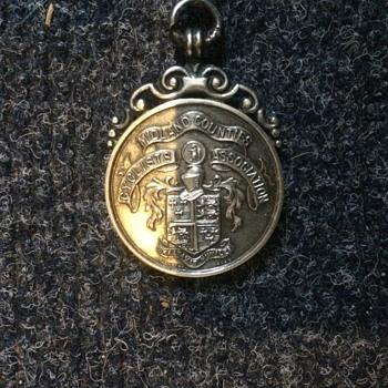 lovely silver medal 1930  - Silver