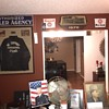 Happy New Year!!! 1930's Gulf Authorized Dealer Agency porcelain sign and updated photos of office:)