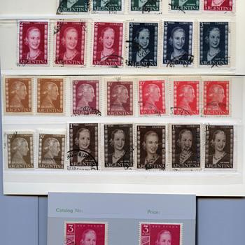Eva Peron Stamps