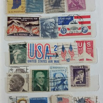 "To my US friends-""The best is yet to be"" - Stamps"