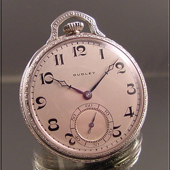 Dudley Masonic Pocket Watch Series #2  c.1925  - Pocket Watches