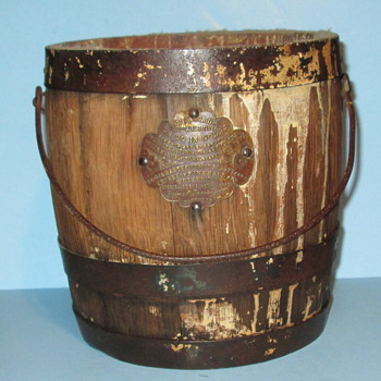 Beymer Bauman Co Bucket of Lead Pigment for making paint 1870 - 1900 - Tools and Hardware