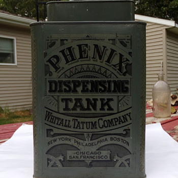 Early 1900s Dispenser, Whitall Tatum Co.  - Advertising