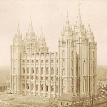 Circa 1892 Salt Lake City , Utah Temple - Photographs