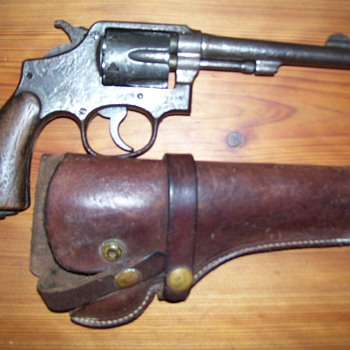 .38 Smith & Wesson - Military and Wartime