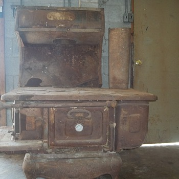 cast iron cook stove the wehrle co.