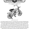 Writing the Speed-O-Byke history.