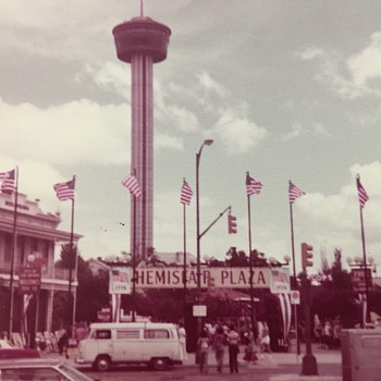 Bicentennial Weekend 1976 HemisFair Plaza San Antonio Tx. - Photographs