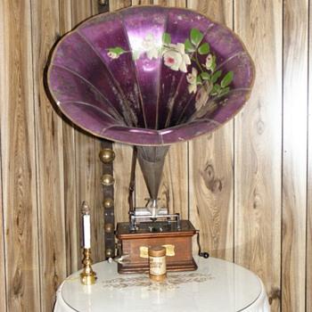 Antique Record Player - Music Memorabilia