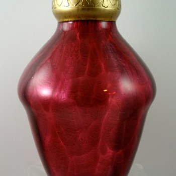 Loetz Ausführung 124 (rot), PN II-6377, DEK 110, ca. 1909 - Art Glass